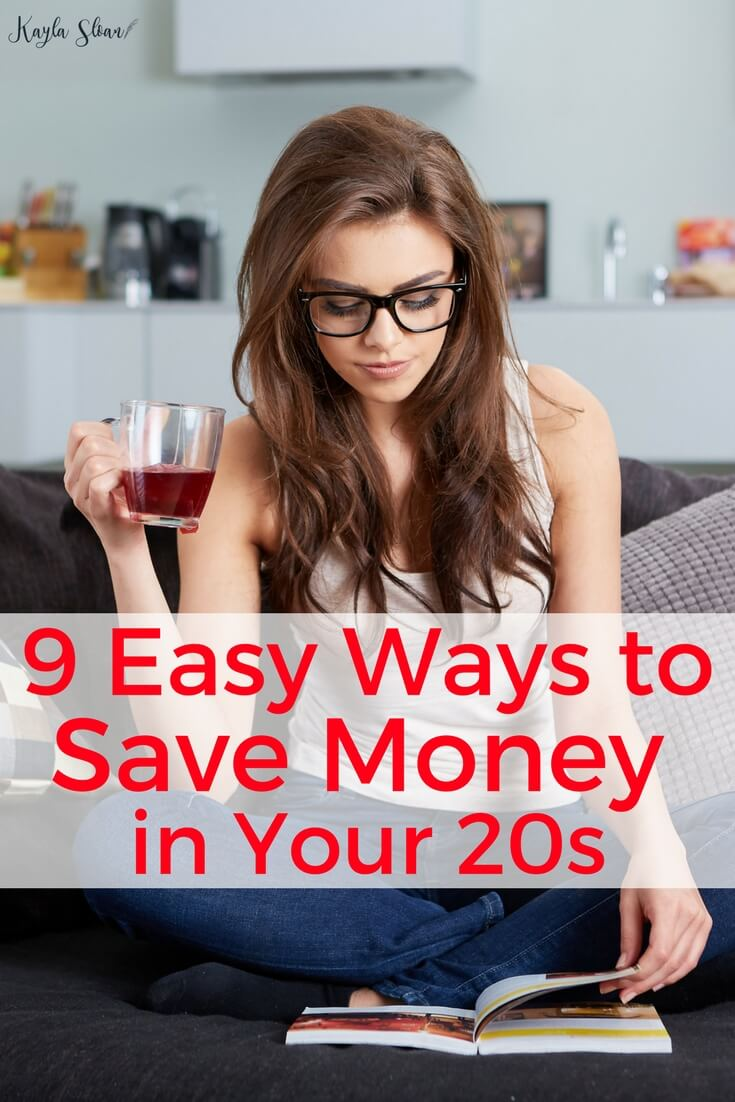 There are hundreds of ways to save money in your 20s. But, these nine ways are ones I've tested and used myself. They are a great place to start saving more money.