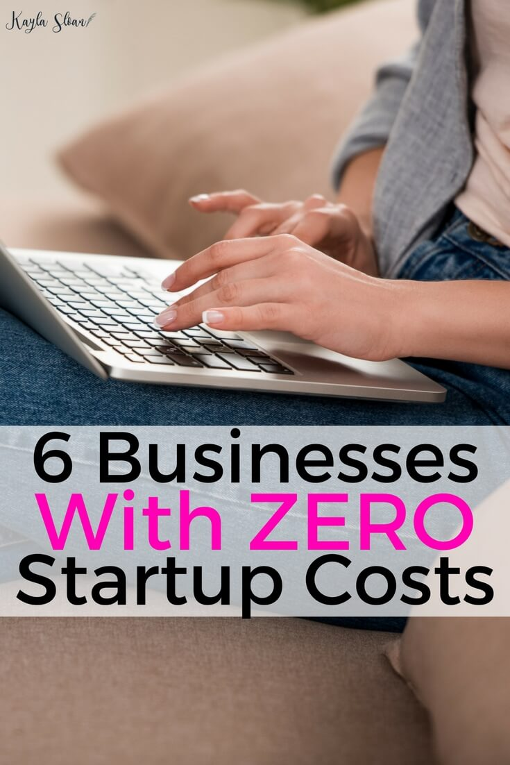 Don't let the idea of expensive startup costs hold you back from starting your own business. It is possible to start a business with little to no startup costs so you earn a profit right away.