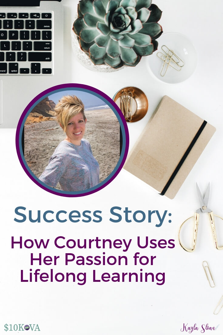 VA Success Story: How Courtney Uses Her Passion for Lifelong Learning