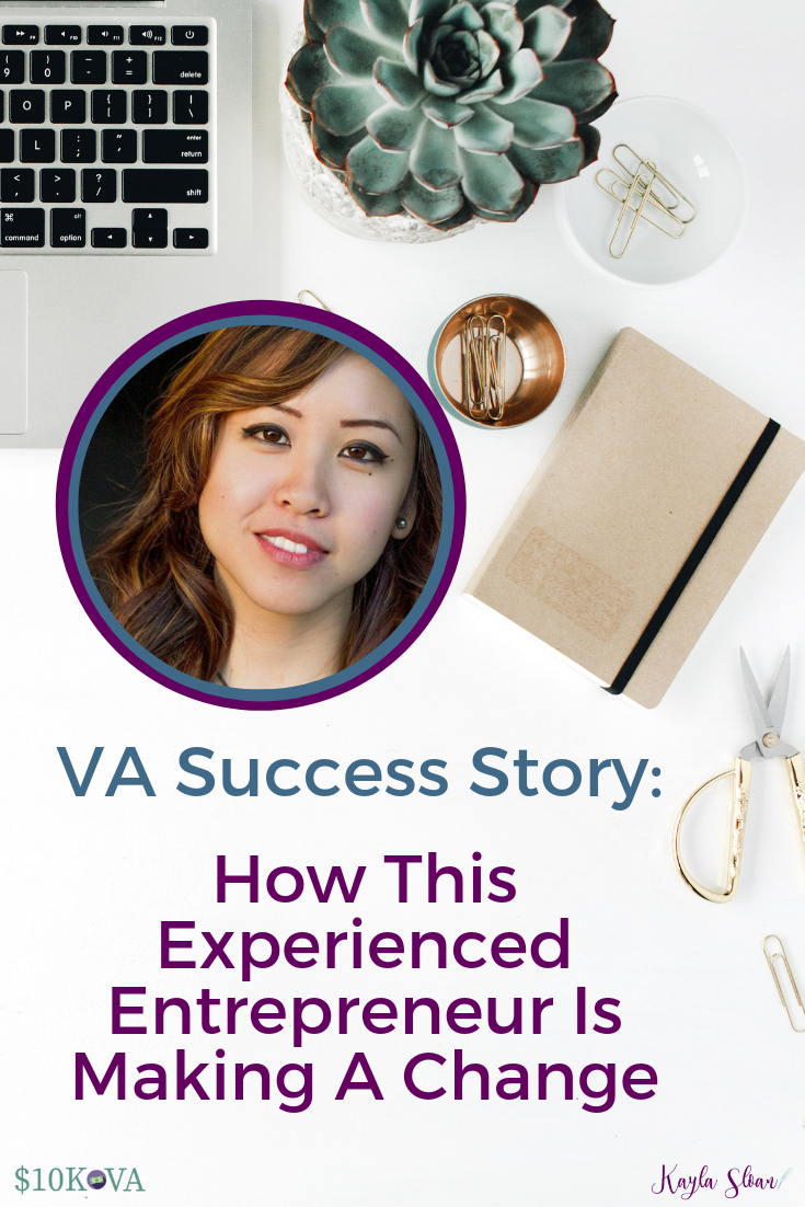 Here\'s how this copywriter and branding expert is building her skill set and gaining more clients as a VA