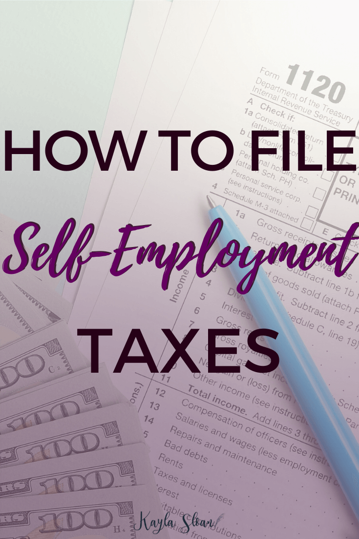Here is what every self-employed person needs to know to file self-employment taxes.
