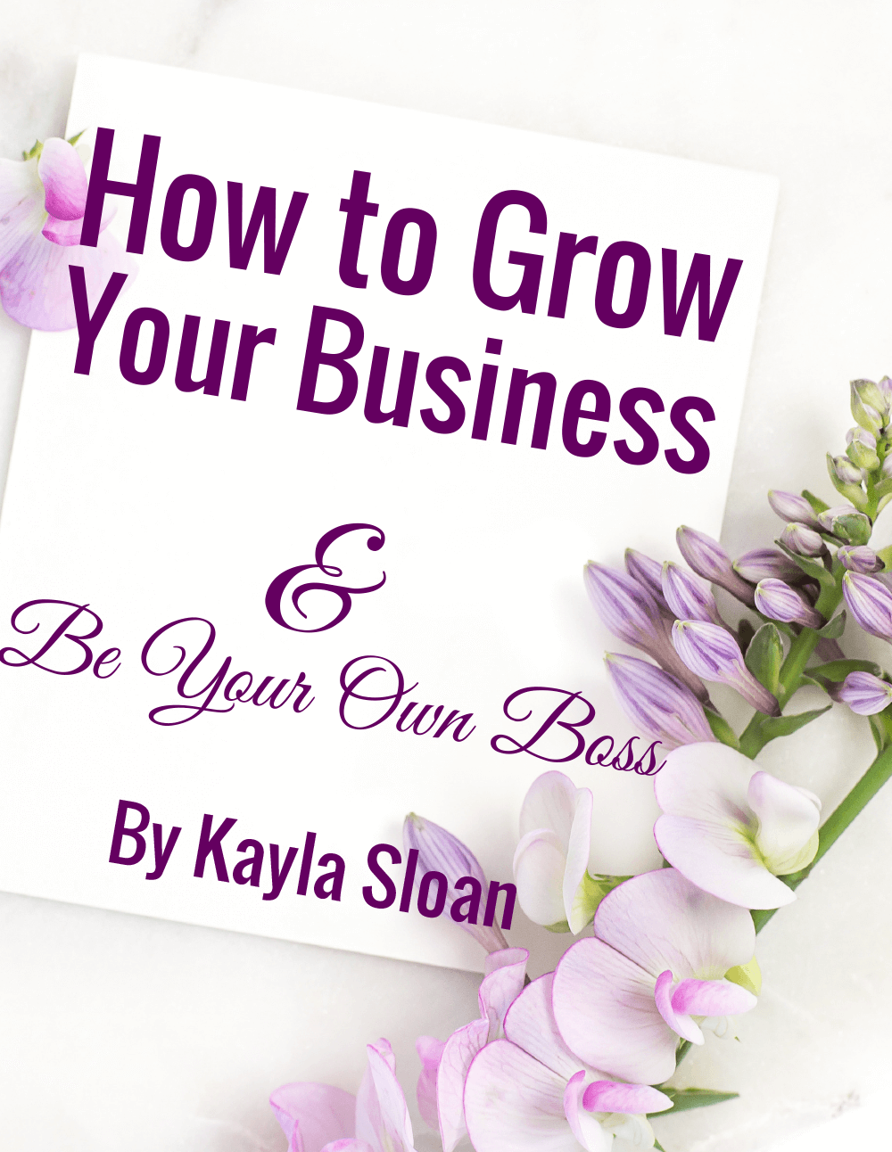 How-to-Grow-Your-Business-and-Be-the-Boss-by-Kayla-Sloan-1