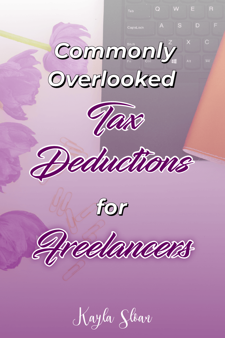 Are you a freelancer or business owner? Take advantage of these tax deductions for freelancers and keep some extra money in your pocket! #businessowner #freelancer #taxdeductions