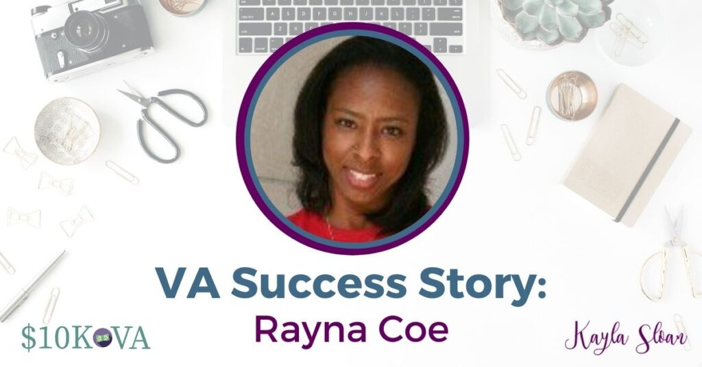 Here's how this virtual assistant started a business during a pandemic with the help of $10K VA, and how she plans on making it full-time.