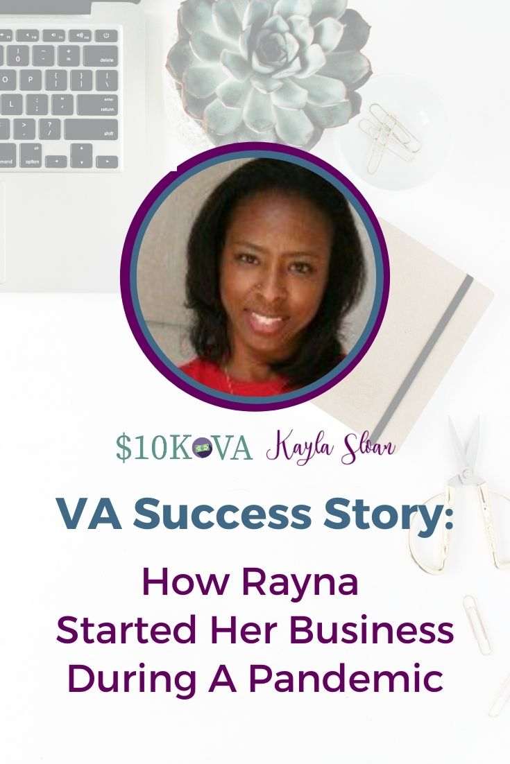 VA Success Story: How This VA Started Her Business During A Pandemic